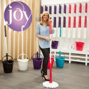 Joy Mangano, the HSN celebrity and inventor of the Miracle Mop, Huggable Hangers and much more...