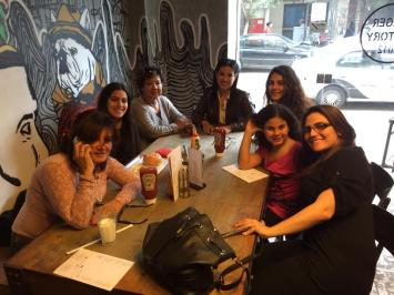Our family lunch at Burger Facctory, Zamalek